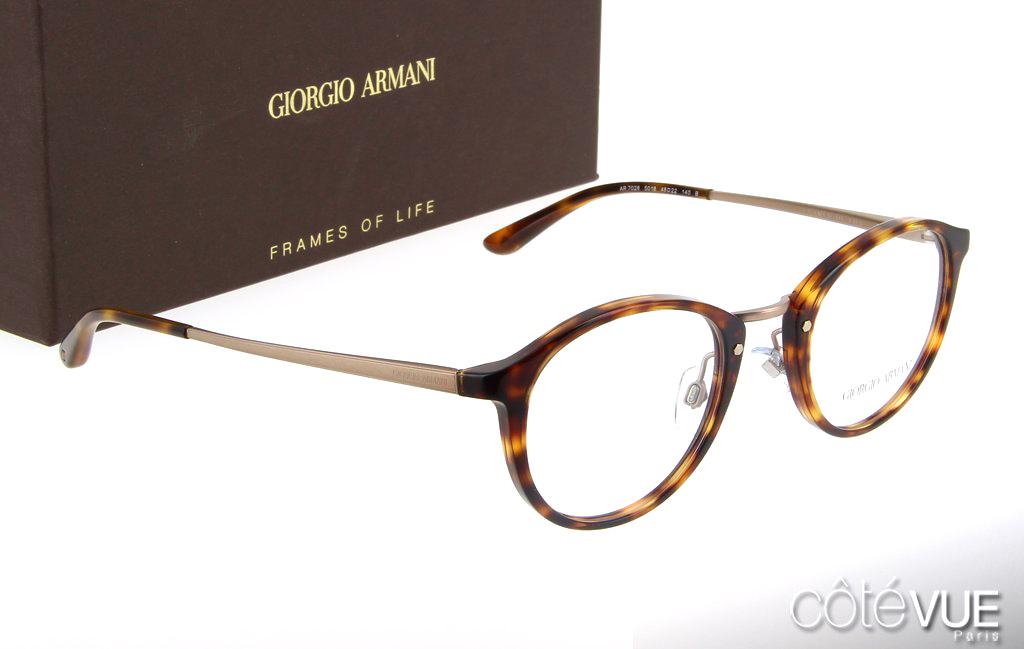 la moitié c0a1b 968e5 Lunettes Giorgio Armani - Coté VUE Rue du Bac Opticien Paris 7