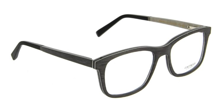 Lunettes Gold and Wood b16 neo 01 05 bois marron gris