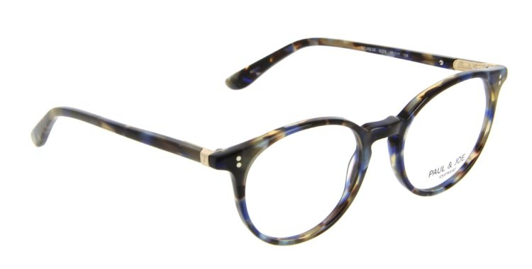 Lunettes Paul and Joe azure 03 e376 écaille bleue