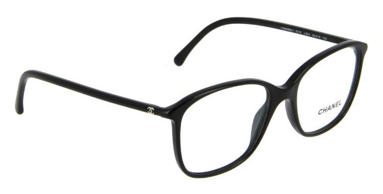 Lunettes chanel 3219 c501 noir
