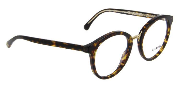 Lunettes Chanel 3385 c714 écaille foncée