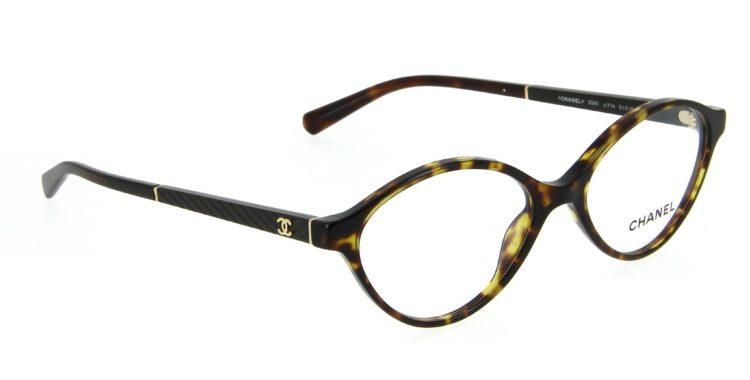 Lunettes Chanel 3390 c714 écaille foncée