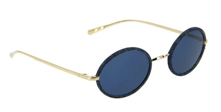 Lunettes de soleil Chanel 4248 j c395 80 bleu jean