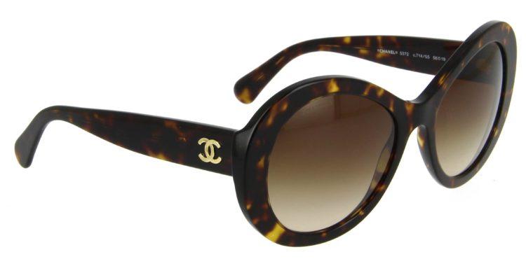Lunettes de soleil Chanel 5372 c714 s5 écaille foncée