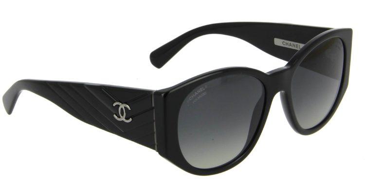 Lunettes de soleil Chanel 5411 c501 s8 noir