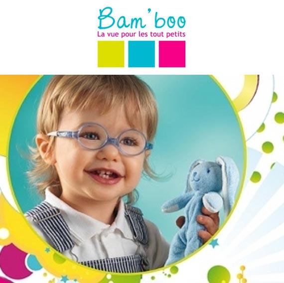 lunettes enfant bamboo