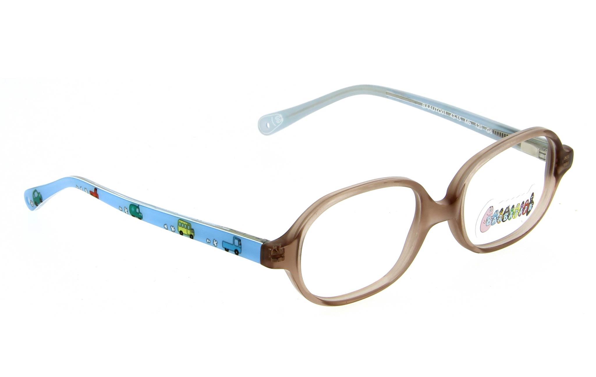 lunettes enfant barbapapa baauto01 mb brun et bleu