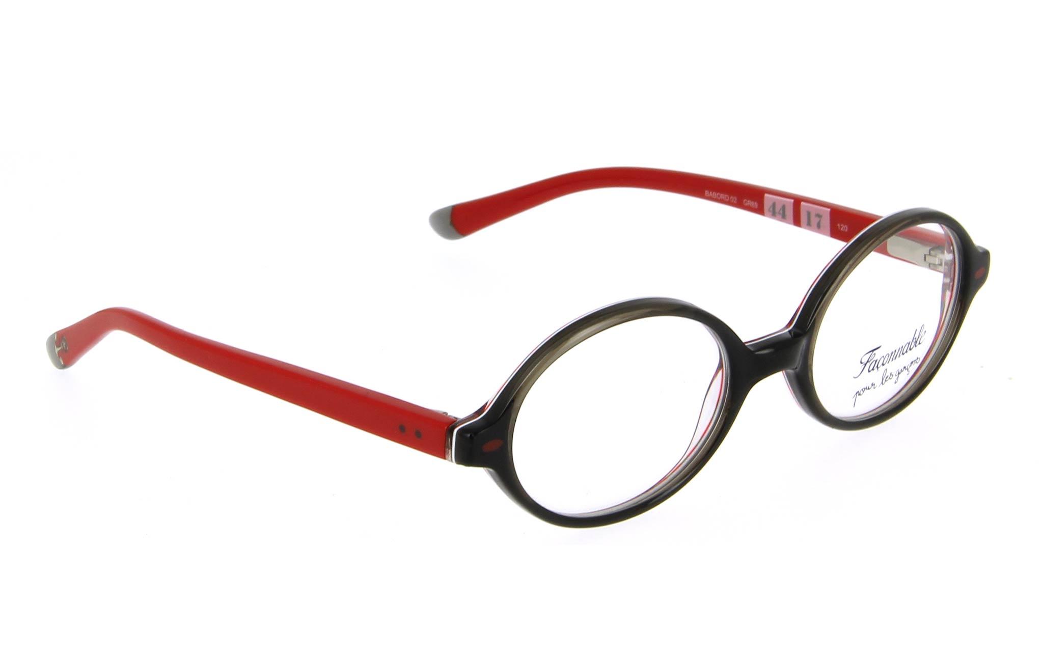 lunettes enfant faconnable babord02 gr69 gris fonce
