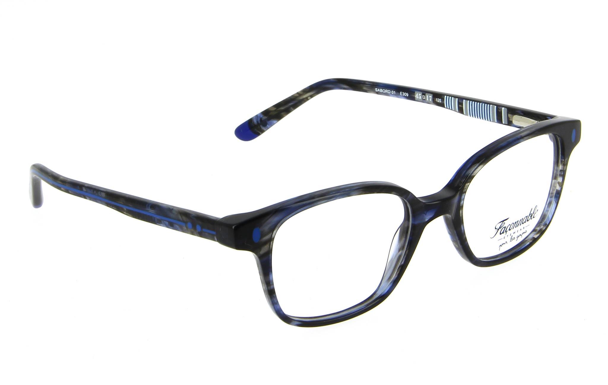 lunettes enfant faconnable sabord 01 e309 bleu fonce