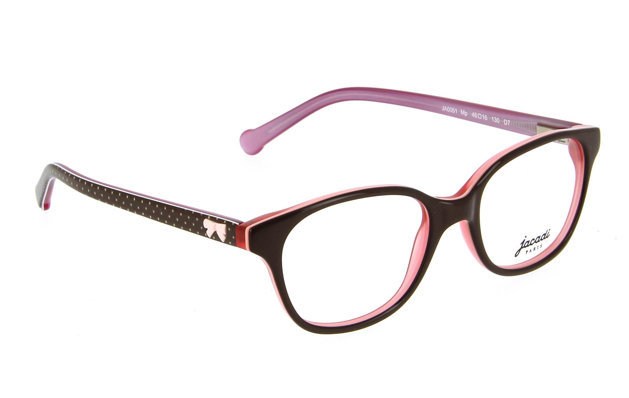 lunettes enfant jacadi ja0051 mp marron rose