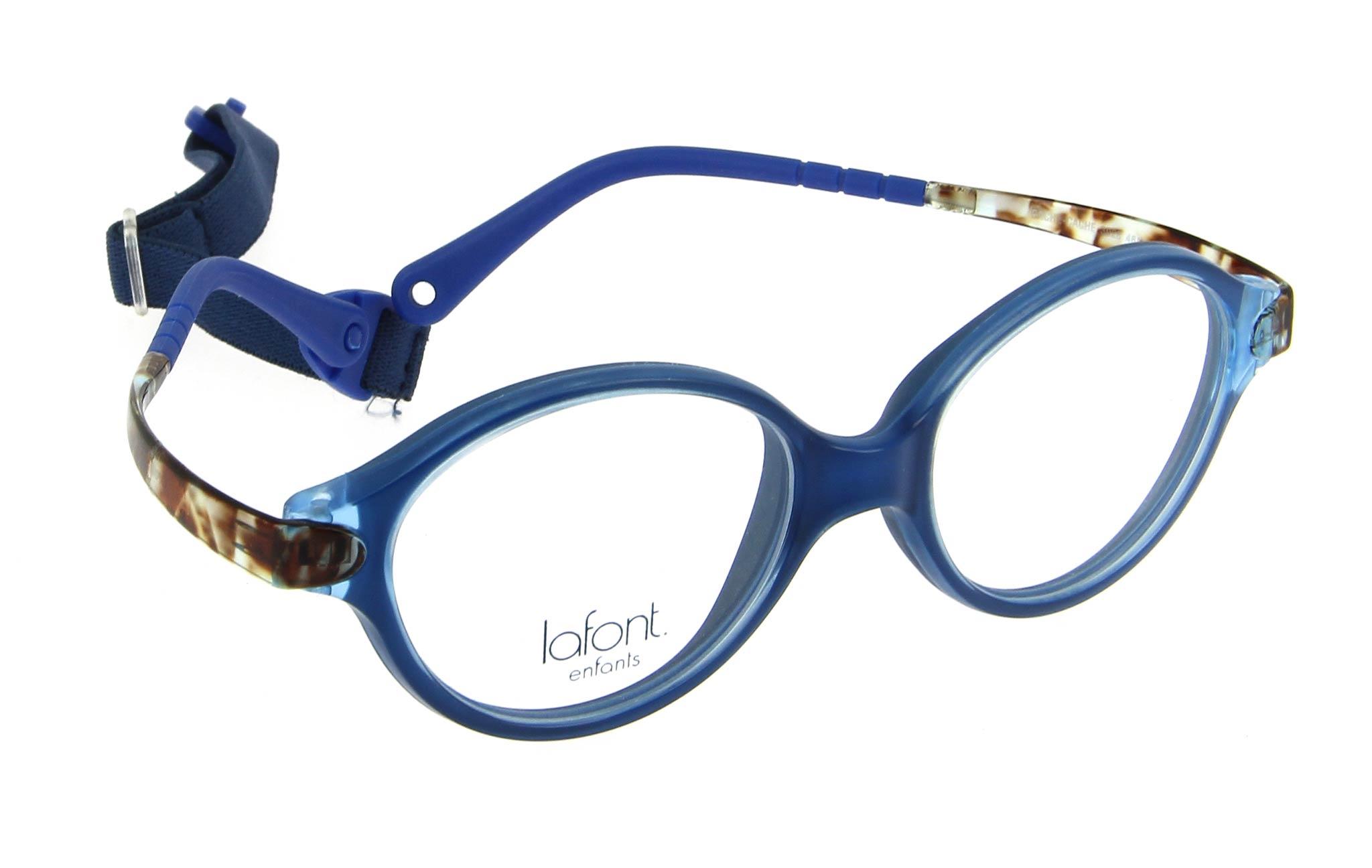 lunettes enfant lafont cache cache 3028 bleu
